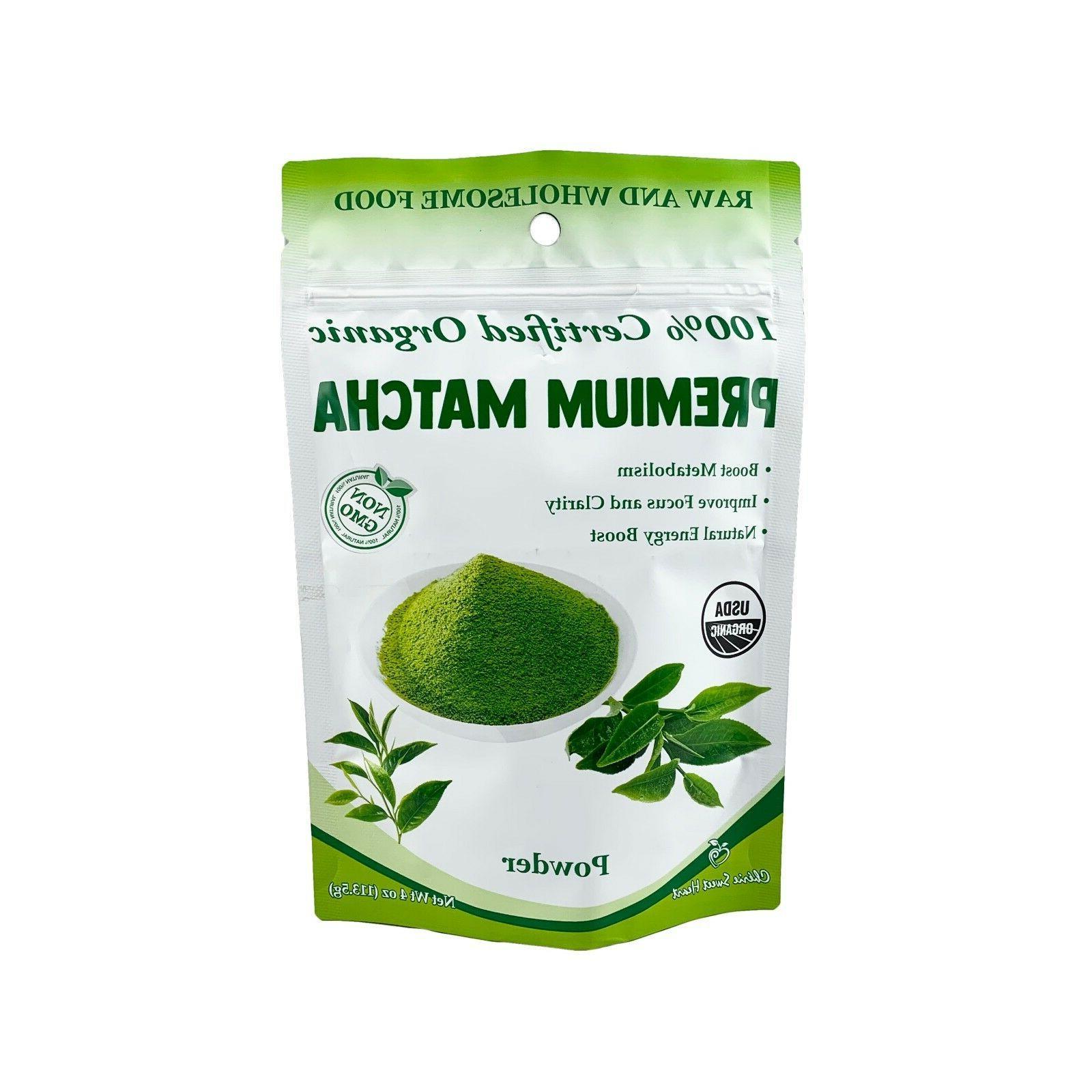 usda certified organic matcha green tea powder