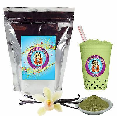 vanilla green tea latte