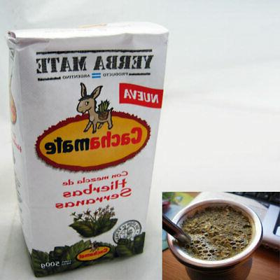 Yerba Mate Cachamate 500 g Argentina Green Tea Loose Bag Ble
