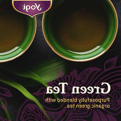 Yogi Green Tea - Supplies Antioxidants 6 Pack, 96 Tea Bags