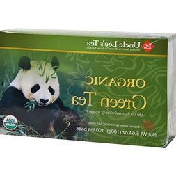 Uncle Lee s Legends of China Organic Green Tea - 100 Tea Bag