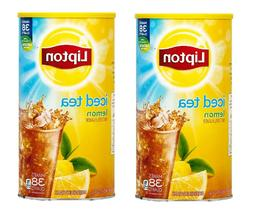Lipton Lemon Iced Tea with Sugar Mix 95.7 oz. can makes 38 q