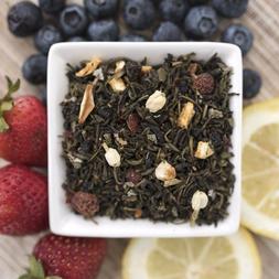 Lemonberry Blast Organic Green Tea - Choose loose leaf, tea