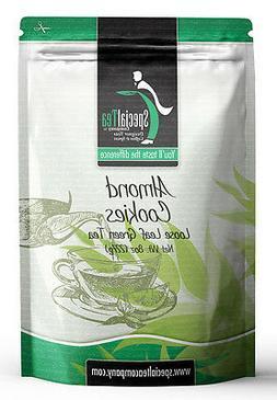 Special Tea Loose Leaf Green Tea, Almond Cookies, 8 Ounce