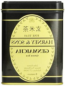 Harney & Sons Genmaicha Loose Leaf Green Tea, 8 Ounce tin, J