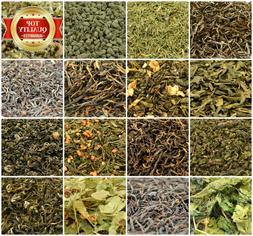 Loose Leaf Tea 59+ Types! Green Tea, Red Tea, Black, Oolong,