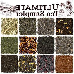Solstice Loose Leaf Tea Ultimate Sampler Feat. 12 Teas; Senc