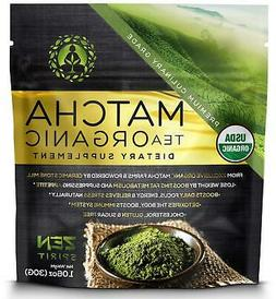 Macha Organic Green Tea Dietary Supplement Zen Spirit Matcha