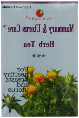 Health King  Mammary & Uterus Care Herb Tea, Teabags, 20 Cou
