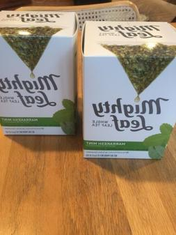 Mighty Leaf Marrakesh Mint Tea, 15 Whole Leaf Pouches, 1.32