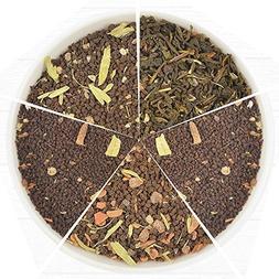 Chai Tea Sampler - 10 TEAS, 50 Servings | 100% NATURAL SPICE