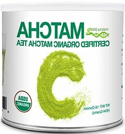 matcha dna certified organic