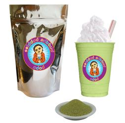 Matcha Green Tea Latte Boba / Bubble Tea Powder By Buddha Bu