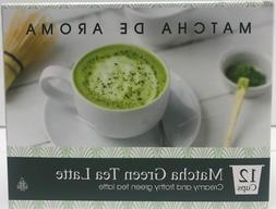 MATCHA GREEN TEA LATTE SINGLE SERVE CUPS  12 CUPS SWEET TEA