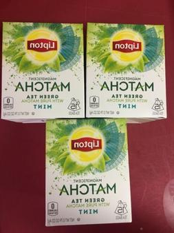 Lipton Matcha Green Tea & Mint Green Tea Bags, 15 ct