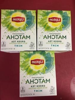 Lipton Matcha Green Tea & Mint Green Tea Bags, 15 ct