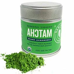 Matcha Green Tea Powder Organic - Japanese Ceremonial Grade