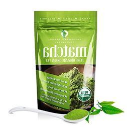 Matcha Green Tea Powder-100% Organic-USDA- 100 Grams-premium