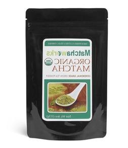 Matchaworks Matcha Green Tea Powder Ceremonial Grade Raw Org