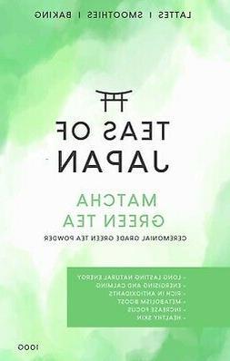 Matcha Green Tea Powder Premium Japanese Ceremonial Grade Na