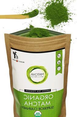 Matcha Green Tea Powder - Superior Culinary - USDA Organic F