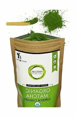 Matcha Green Tea Powder - Superior Culinary - USDA Organic F