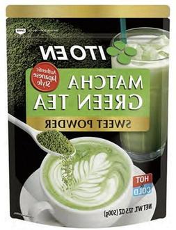 Ito En Matcha Green Tea Sweet Powder 17.5 oz  Free Shipping