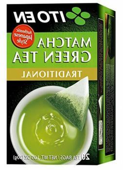 Ito En Matcha Green Tea, Tea Bags box of 20  2