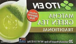 Ito En Matcha Green Tea, Tea Bags box of 20