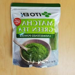 Ito En Matcha Green Tea Unsweetened Powder, 12oz.