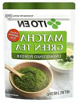 Ito En Matcha Green Tea Unsweetened Powder 2 Oz  Authentic J