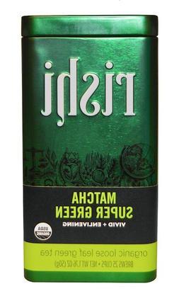 Rishi Tea Matcha Super Green Tea - Organic Loose Leaf Tea -