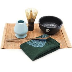 Mocha ChaDao MATCHA Traditional Tea Set | Purple Bamboo Whis