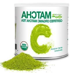 MatchaDNA 1 LB Certified Organic Matcha Green Tea Powder