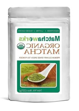 Matchaworks Matcha Green Tea Powder Culinary Grade Raw Organ