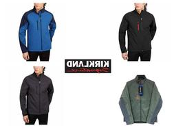 Kirkland Signature Mens Full Zip SoftShell Jacket, Windproof