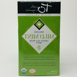 Touch Organic Mild Mint Green Tea with Peppermint