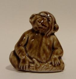 Monkey - Red Rose Tea Wade Figurine, American Series #1 1983