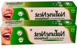 NatureNest Herbal Vegan Organic Toothpaste Green Tea Neem Mi