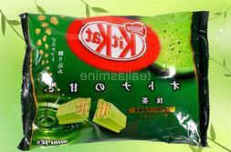 Nestle Kit Kat Green Tea Matcha Maccha Favor Crunchy Chocola