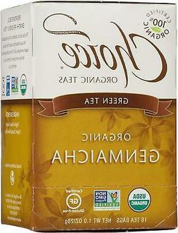 CHOICE ORGANIC TEAS Org Green Tea Toasted Brown Rice 16 BAG