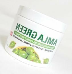 Organic AMLA GREEN Tea Powder – Great Tasting, 20x Concent