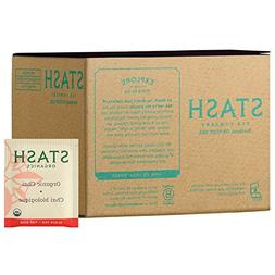 Stash Tea Organic Black and Green Tea Bags in Foil Chai Spic