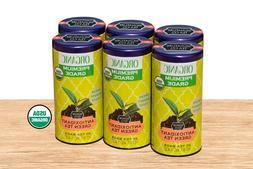 USDA ORGANIC BLACK GREEN HERBAL TEA 6 COUNT