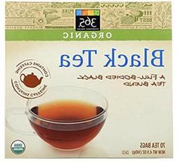 365 Everyday Value, Organic Black Tea , 4.9 oz