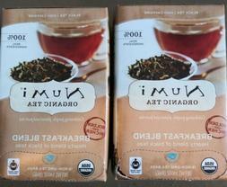 Numi Organic Breakfast Blend Black Tea