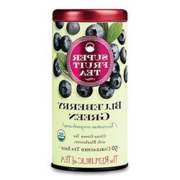 The Republic Of Tea Organic Blueberry Green Superfruit Tea,