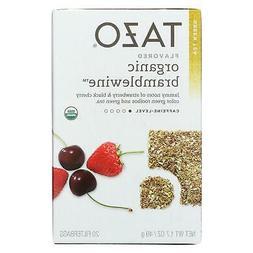 Tazo Organic Bramblewine Green Tea - 20 bags per pack - 6 pa