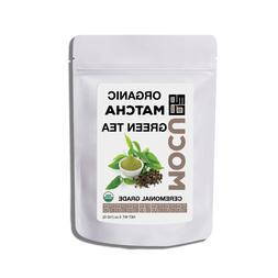 Organic Ceremonial Grade Matcha Green Tea Powder 5 Ounce Bag
