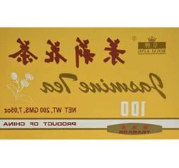 100% Organic Premium Chinese Jasmine Tea  New Teabags Royal